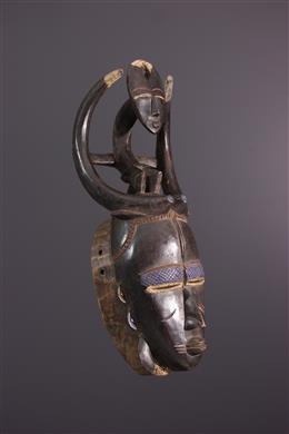 African art - Ligbi/Djimini mask from Dô Siginkuru-Ayna