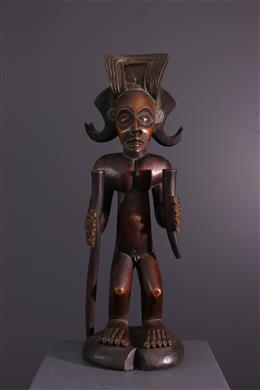 African art - Figure of chef Chokwe Chibinda Ilunga