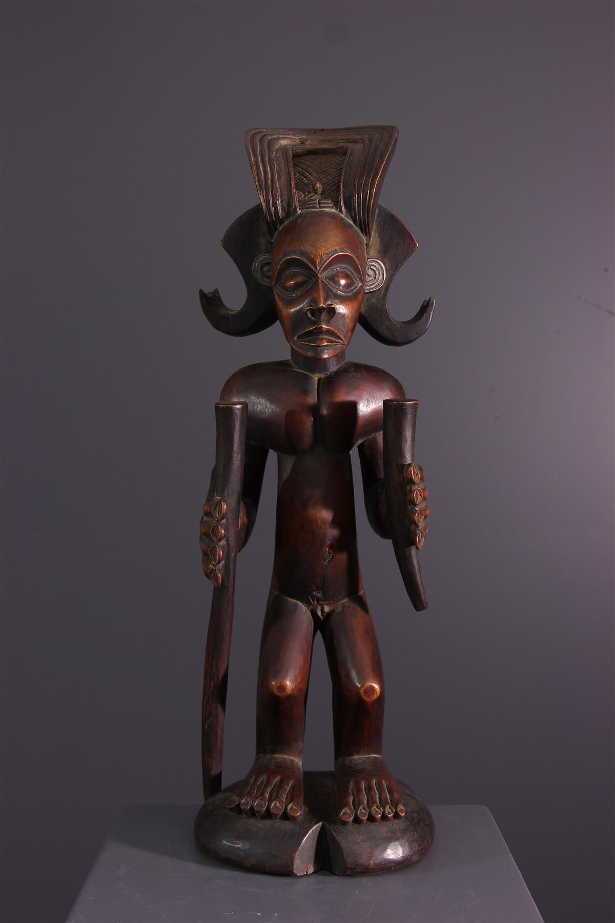 Tschokwe figure - African art
