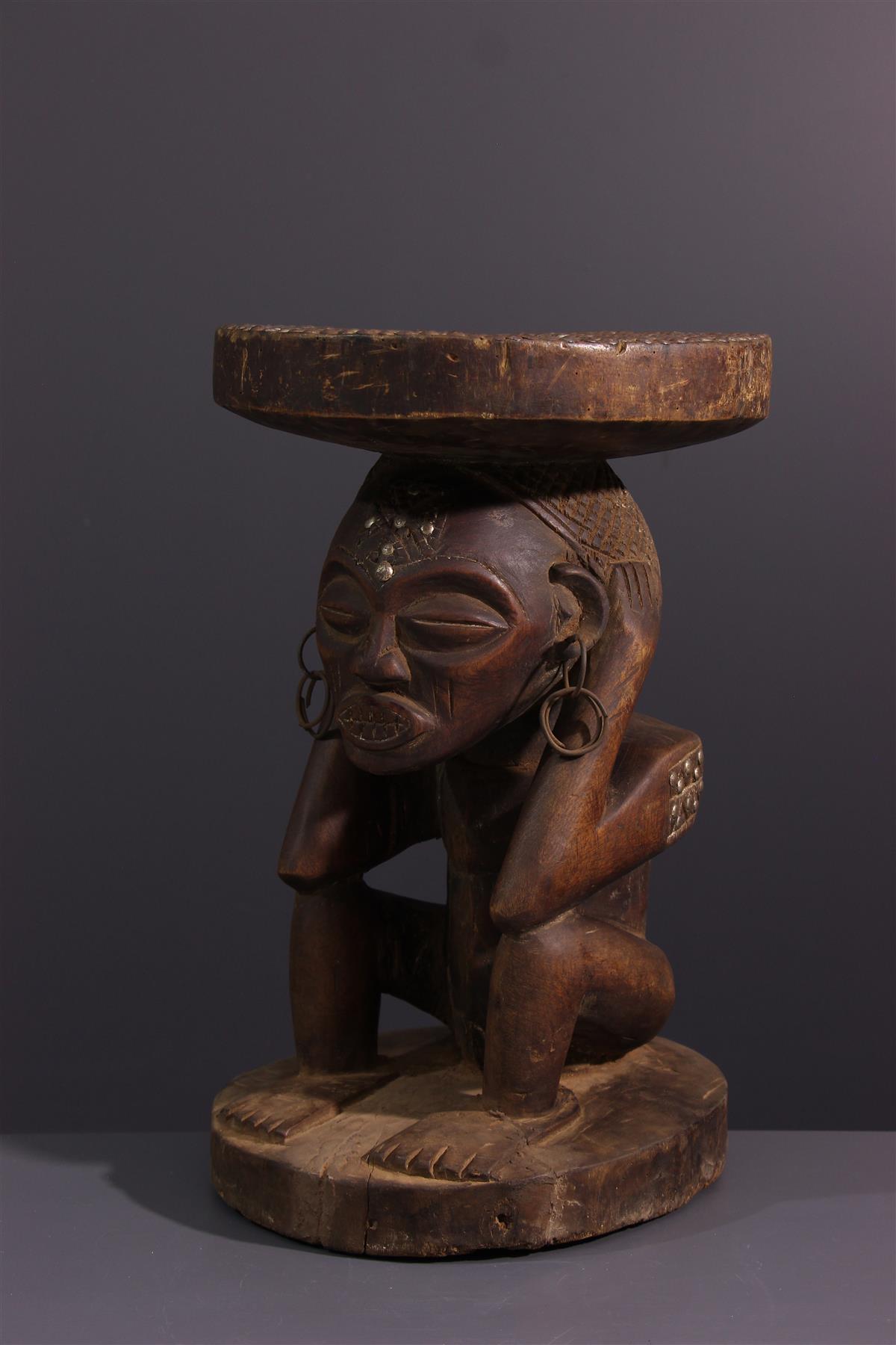 Tschokwe seat - African art