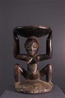 African art - Luba / Zula Kipona seat