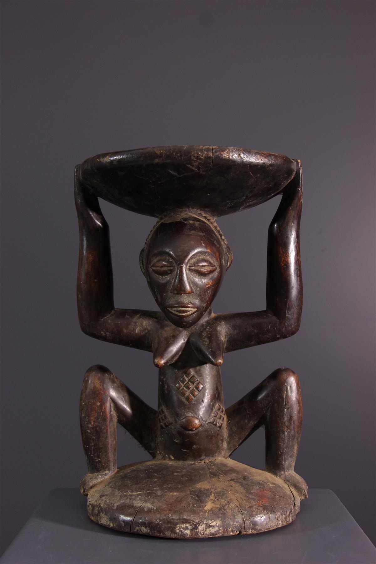 Luba seat - African art