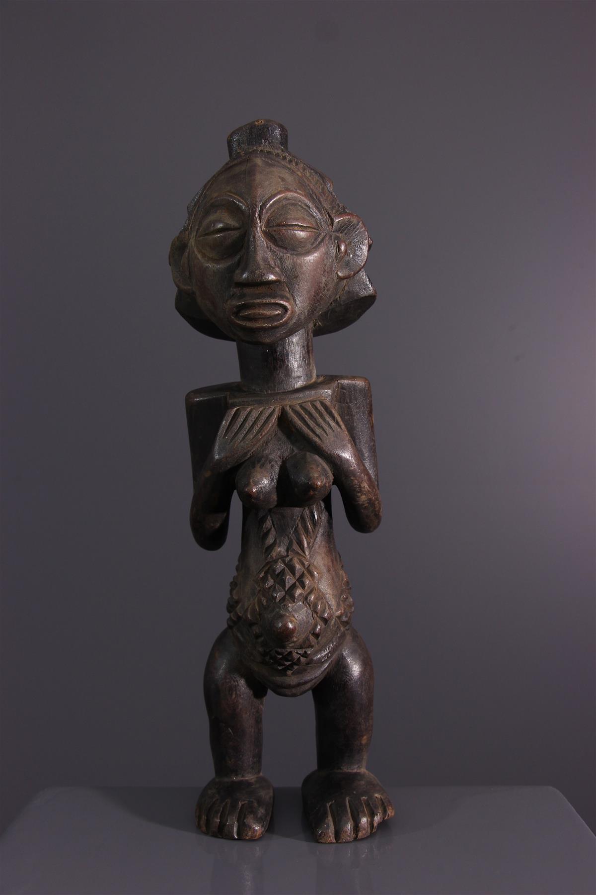 Luba figure - African art
