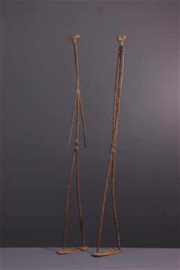 African art - Statues of the primordial couple Dogon