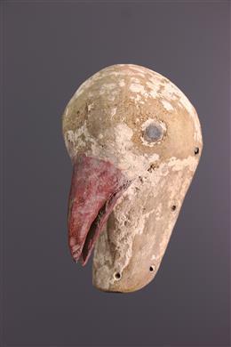 African art - Luba animal mask