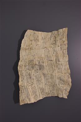 Pongo fabric of Ituri Pygmies