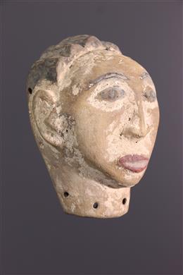 African art - Masquette figurative Luba
