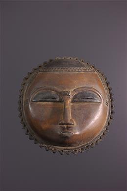 African art - Baoule Moon Mask