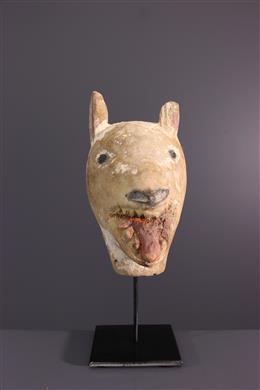 African art - Luba Zoomorphic Mask