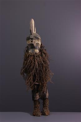African art - Dancer Figure Songye Kifwebe