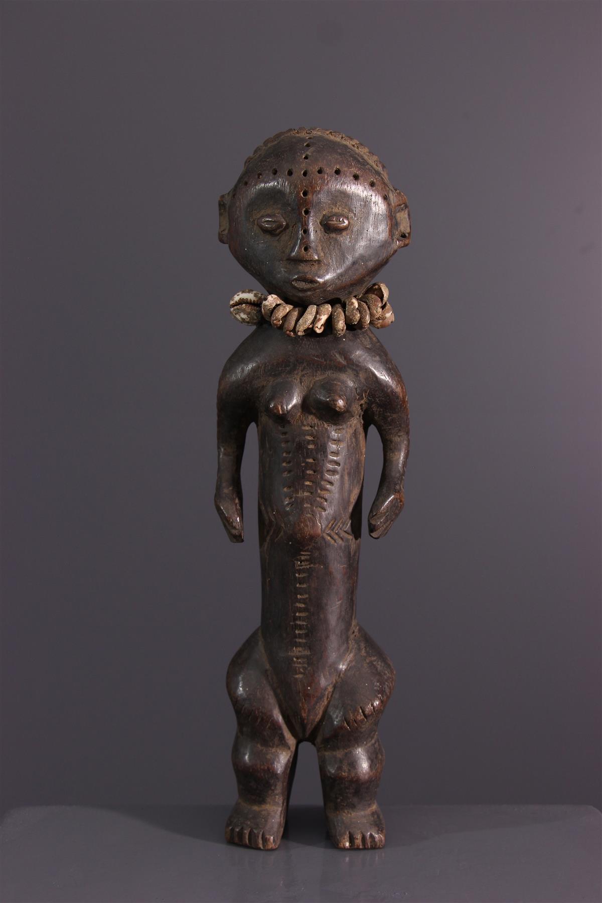 Statuette Ngbandi - African art
