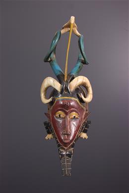 Gouro/Kweni Zauli mask
