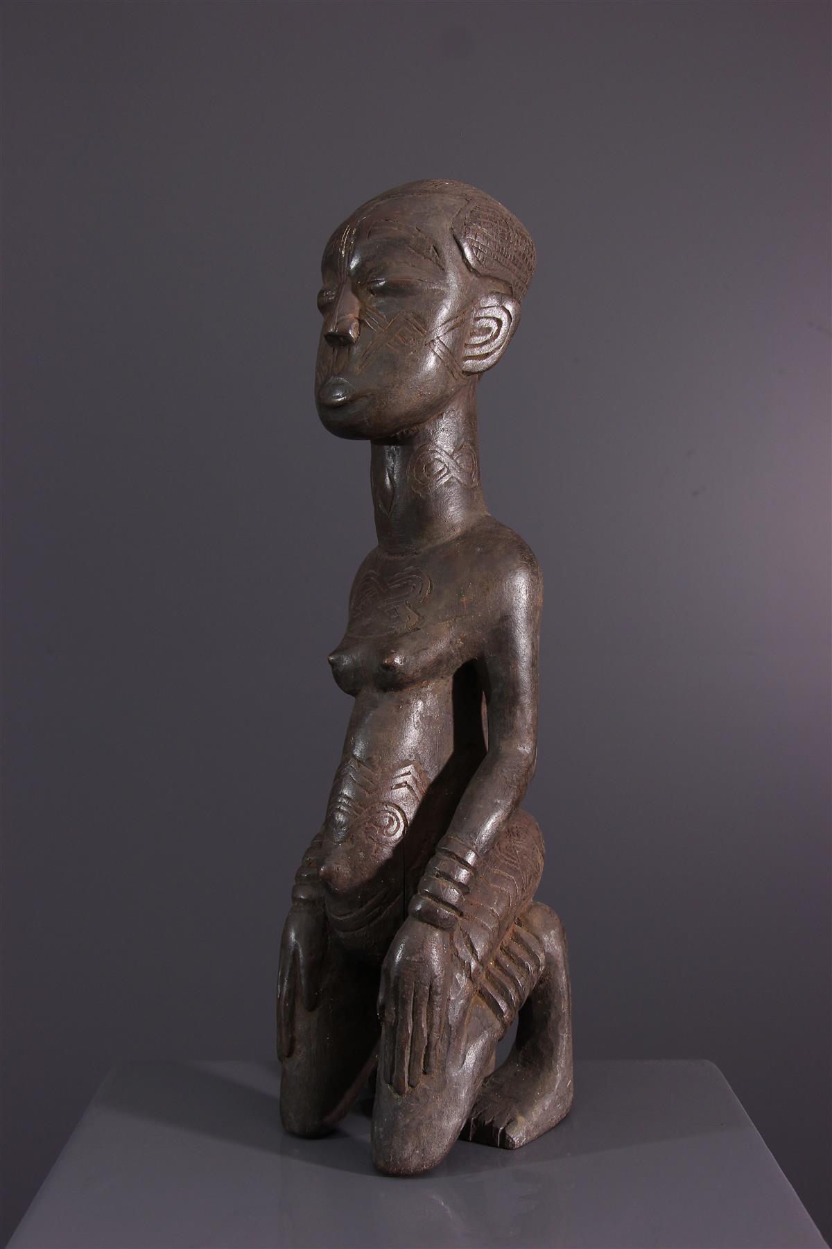 Statue Ngeende - African art