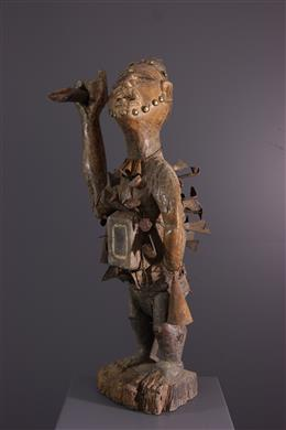 African art - Fétiche Kongo Nkondi Nkisi