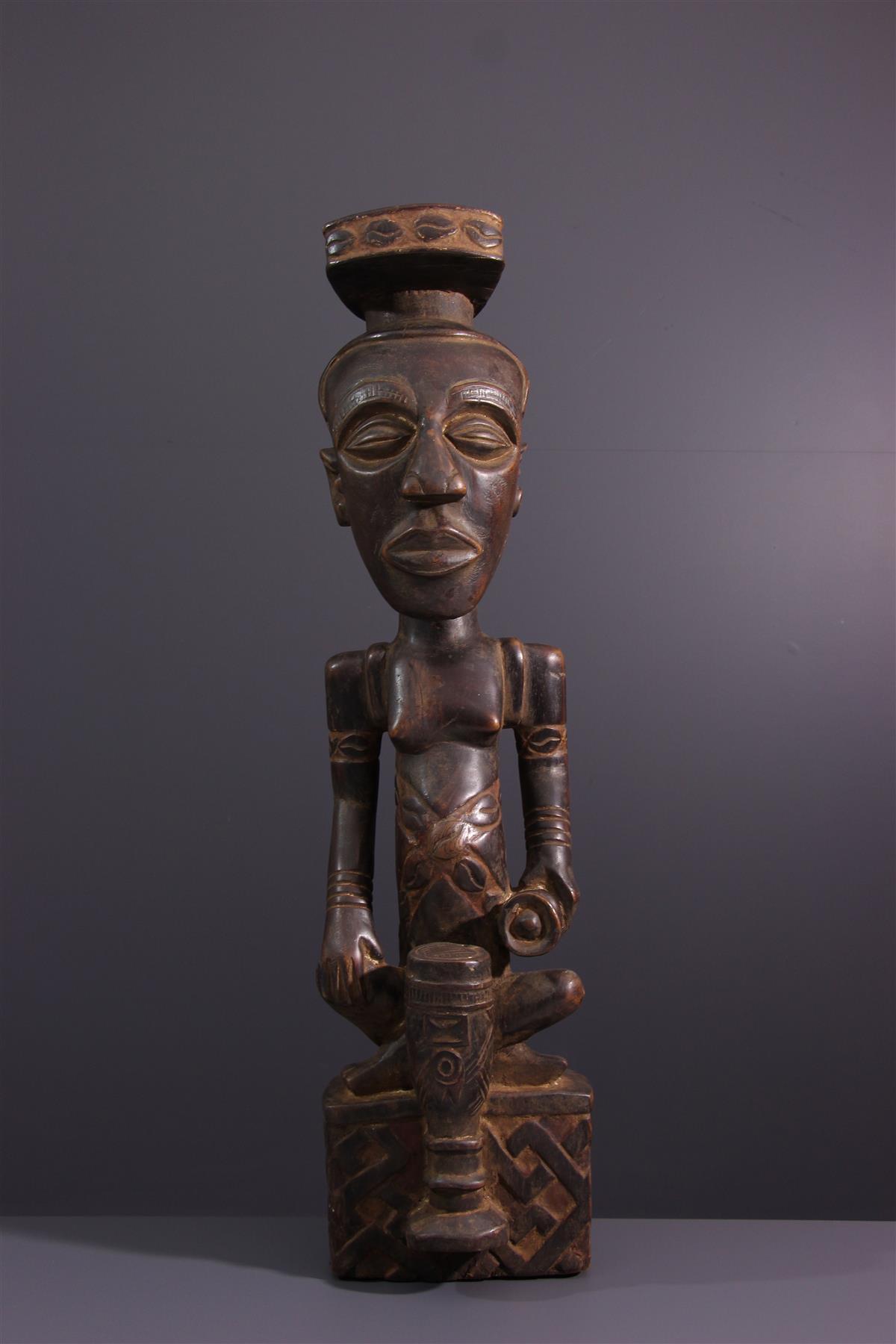 Statue of Cuba - African art