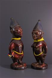 Statues africainesIbeji Twins