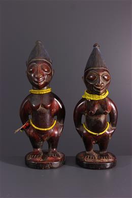Couple d  Ere Ibeji Yoruba Igbomina