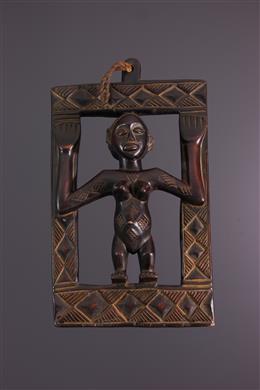 African art - Luba box board