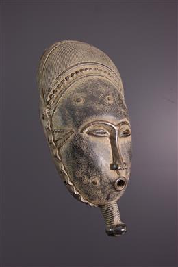 African art - Baule Kpwan Mask of goli