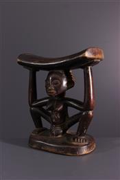 Statues africainesLuba headrest