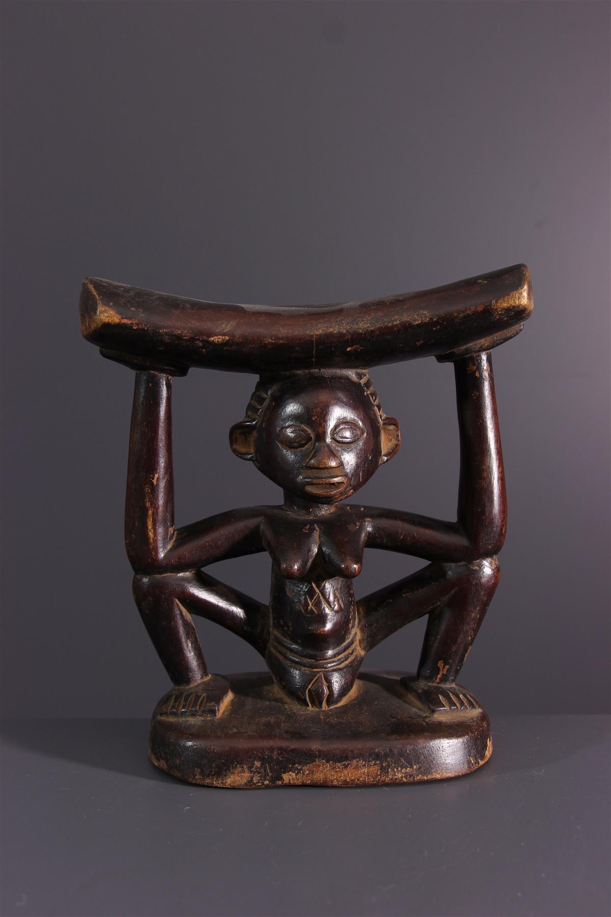 Luba headrest - African art