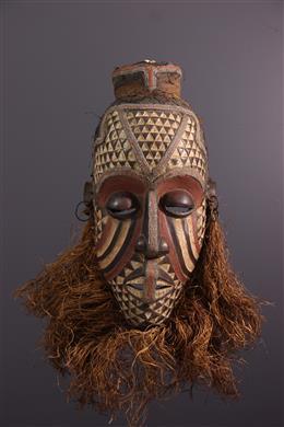 African art - Large mask Ngady mwaash Kuba