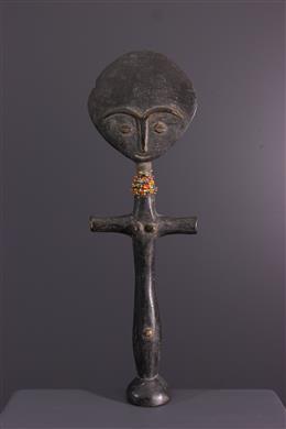 African art - Akua ba Ashanti Ghana doll