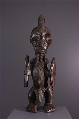 African art - Statue of warrior Bena Lulua