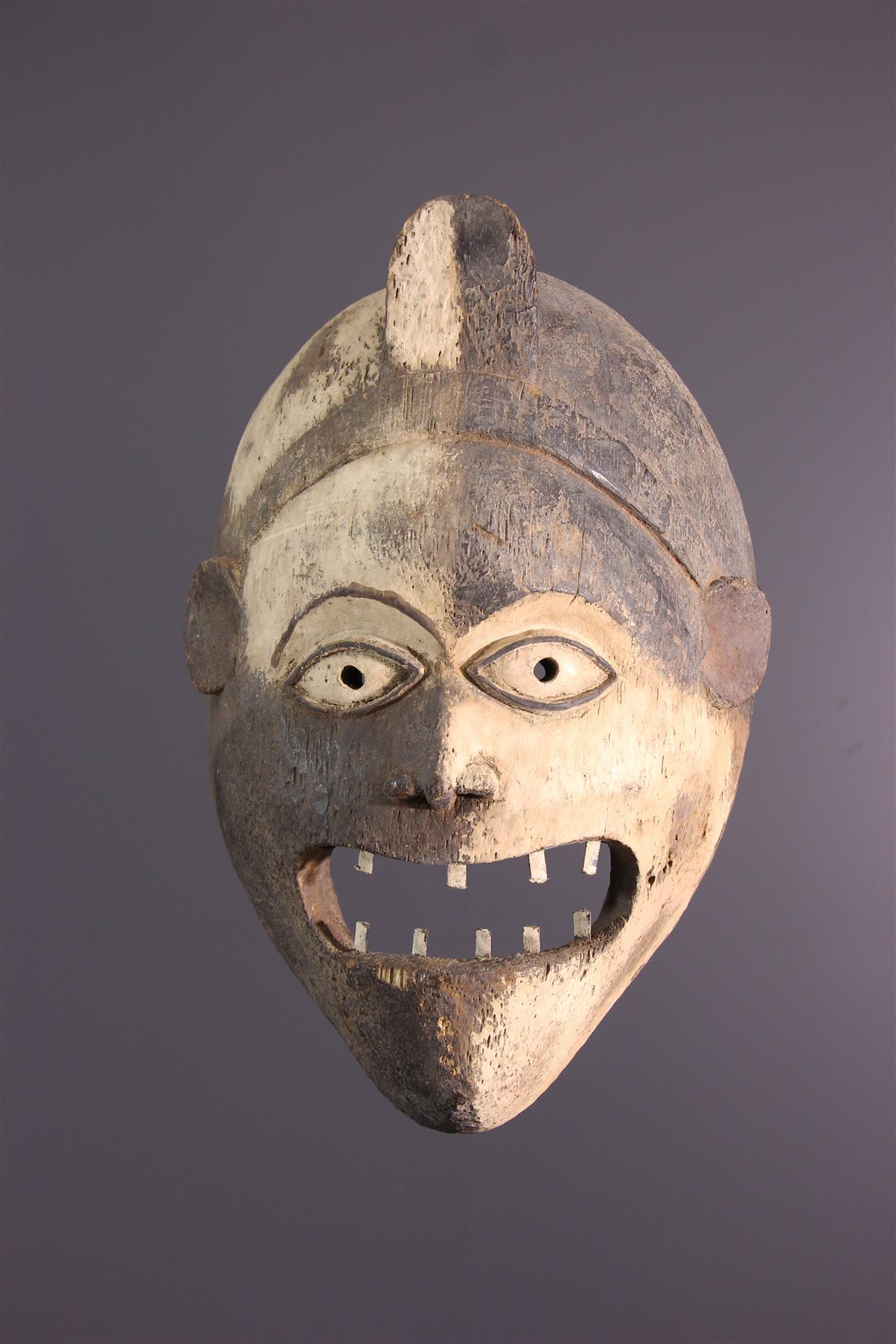 Kongo Mask - African art