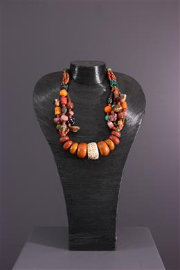 African art - Amazighe tribal necklace