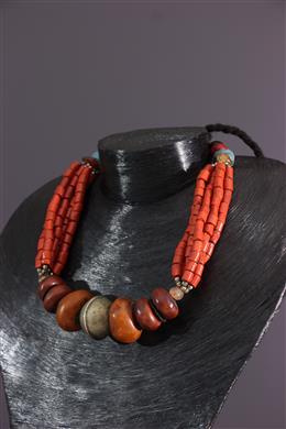 African art - Amazighe ethnic necklace