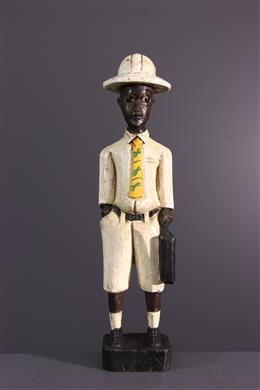 African art - U+0022colonU+0022 BaouleU+0022 figure