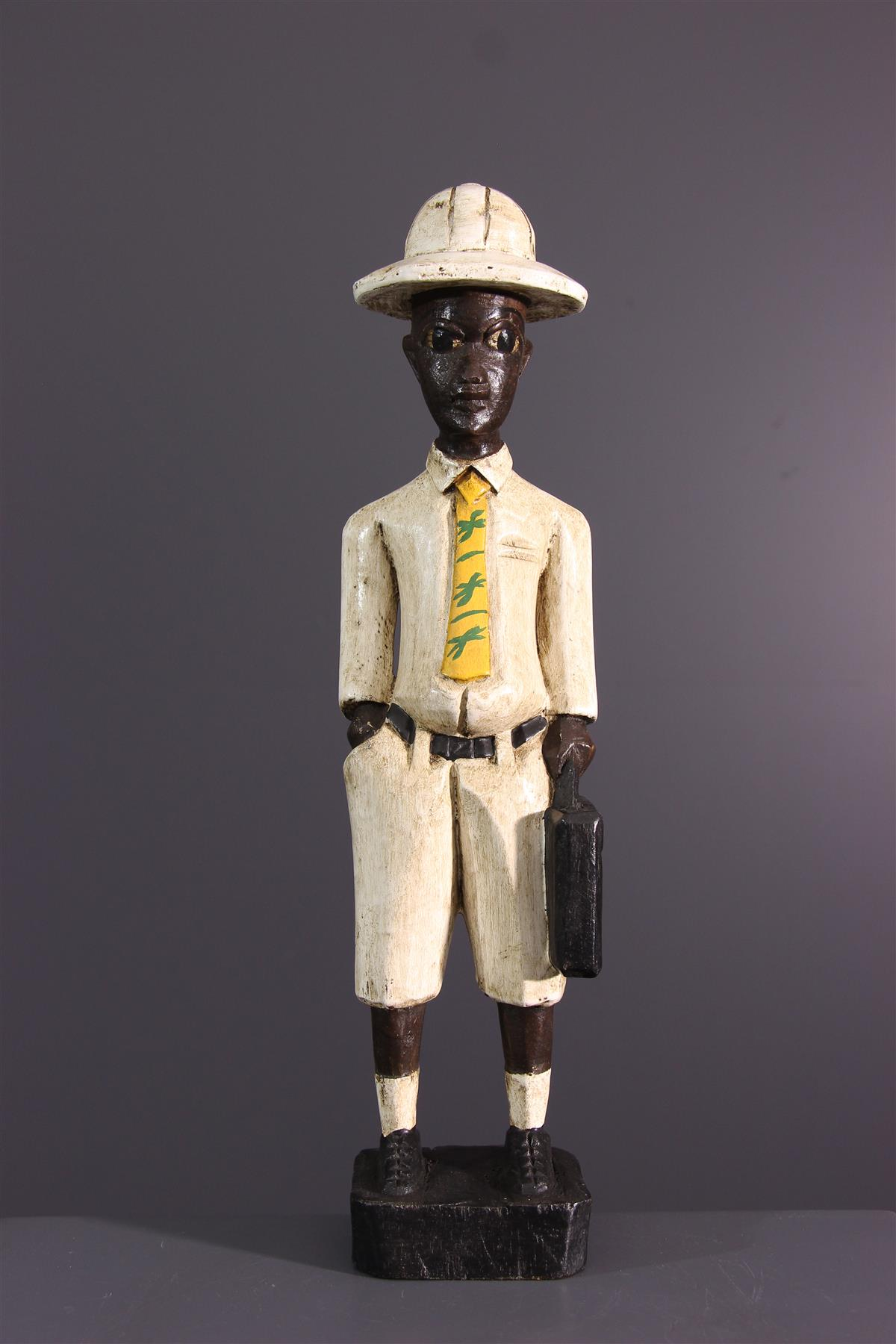 Baule figure - African art