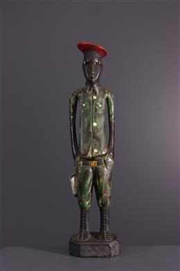 African art - Baule figure