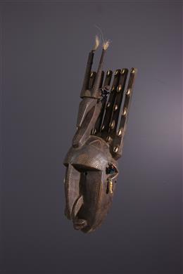 African art - Ntomo Bambara Mask