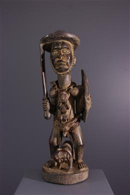 African art - Power figure Kongo Solongo