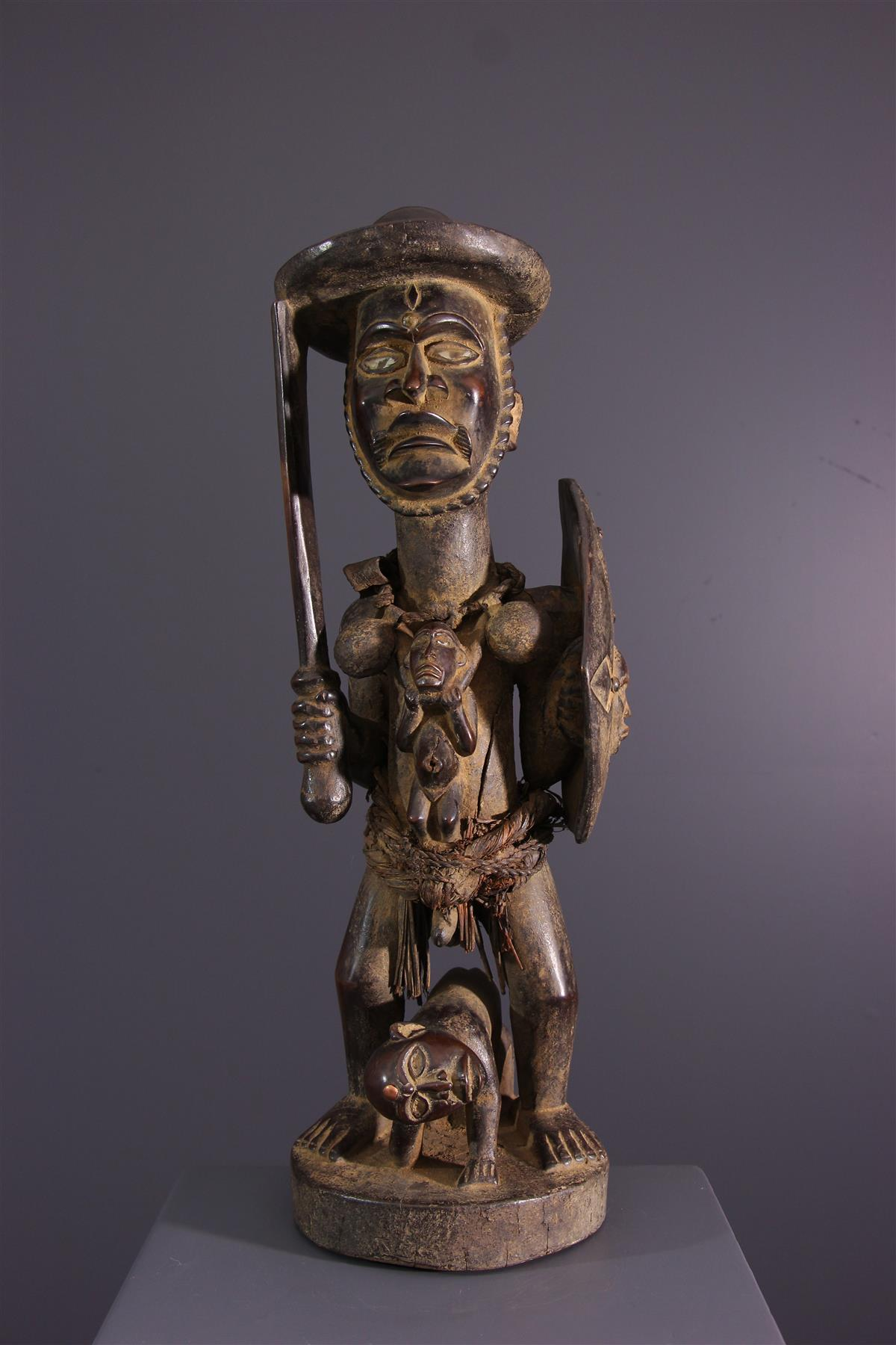 Statue of Congo - African art
