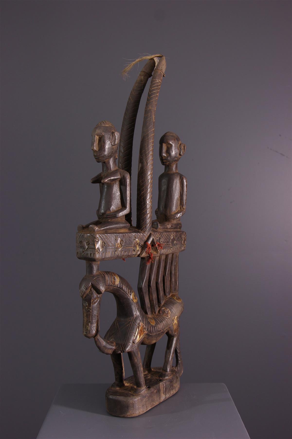 Sogoni kun Bambara - African art