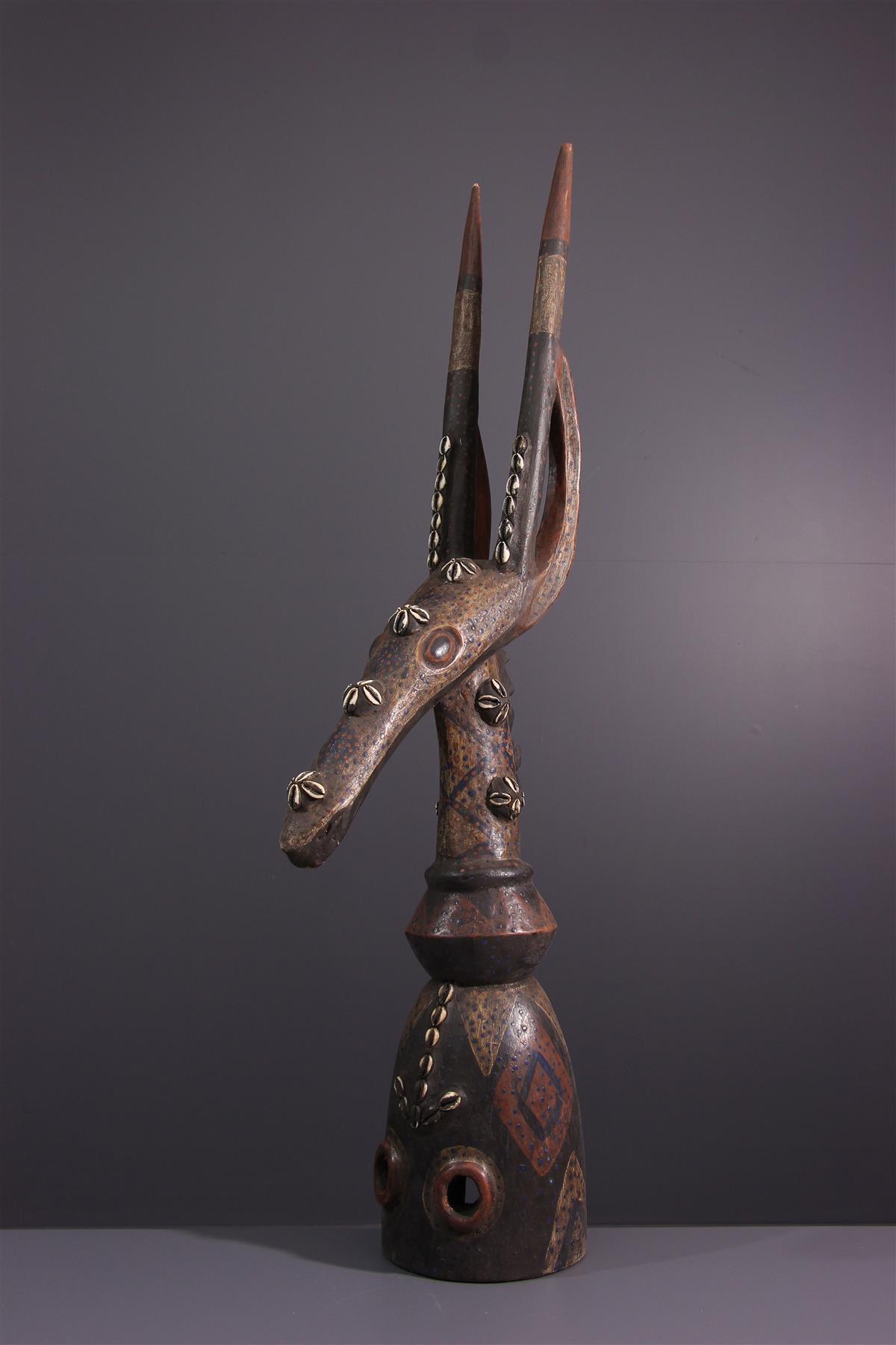 Kurumba Mask - African art