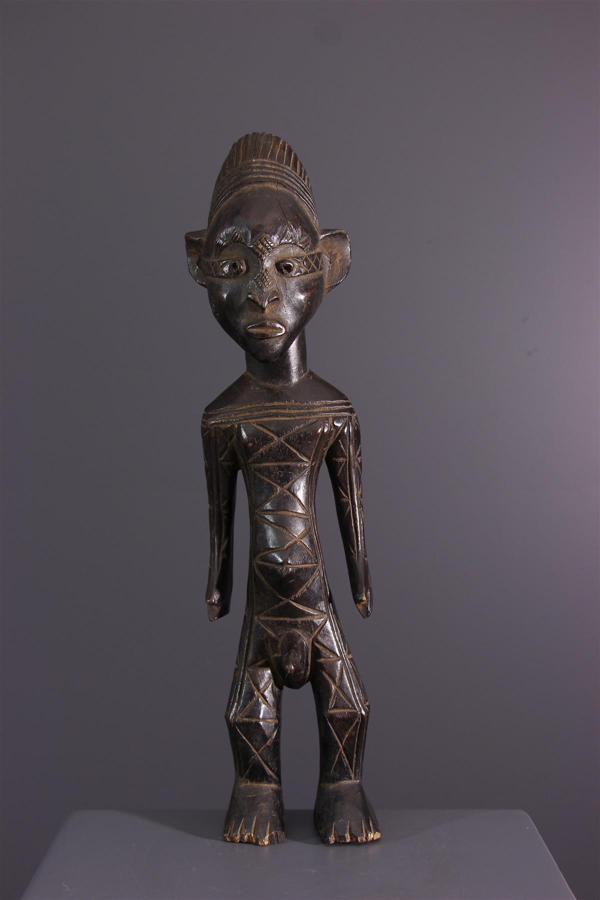 Mangbetu figure - African art