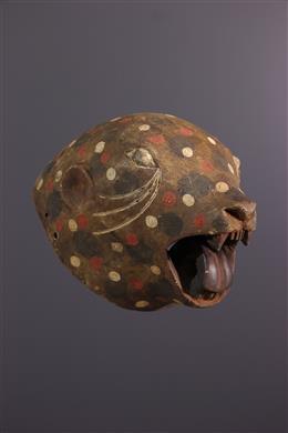 African art - Luba/Zela zoomorphic mask