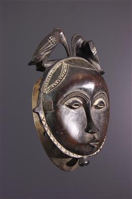 Yaure Mask, Yahoure, Ivory Coast