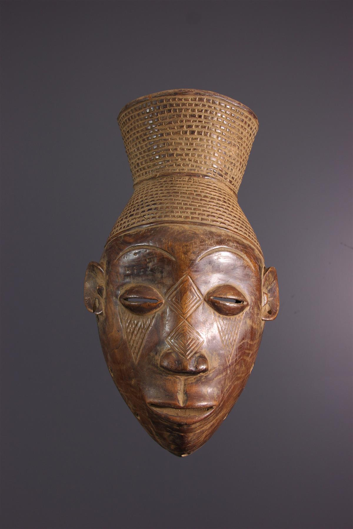 Mangbetu Mask - African art