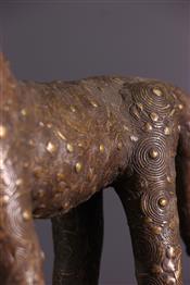 bronze africainLeopard Benin