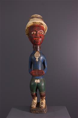 Baule settler statue