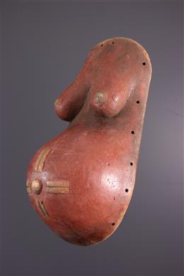Makonde Ndimu Belly Mask