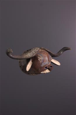 African art - Tabwa buffalo mask