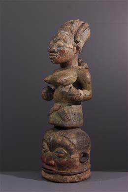 African art - Masque Yoruba Ekiti Epa