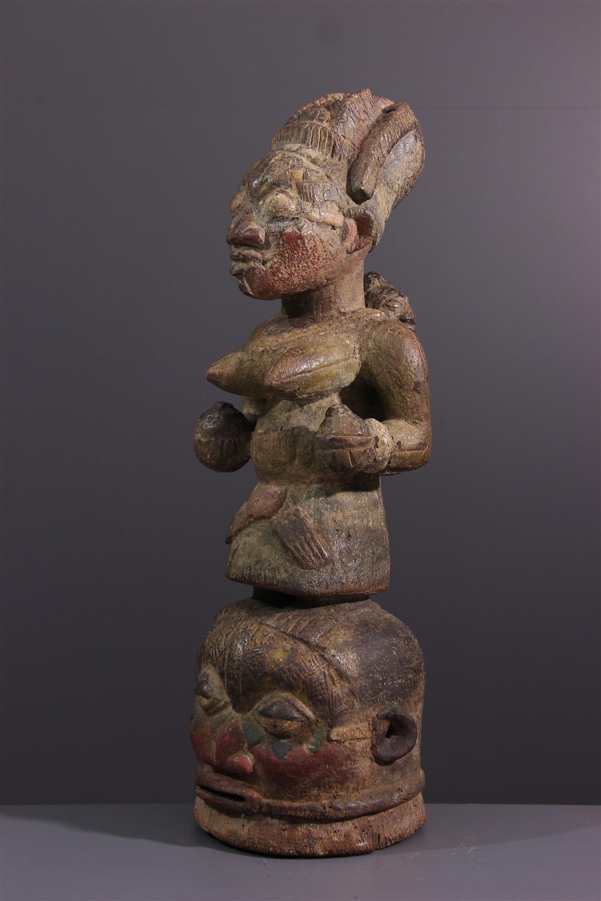 Yorouba Mask - African art