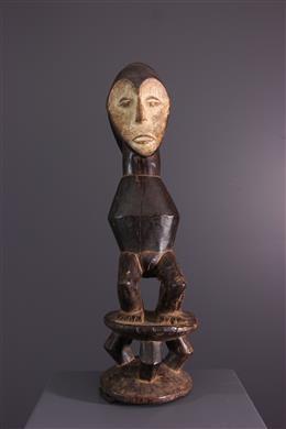 African art - Sculpture janiforme Lega Iginga
